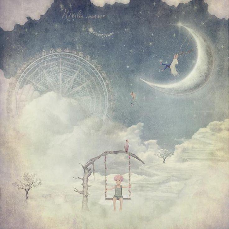 Хочу дожить с тобой до дежавю. Волшебные работы художницы Натальи Мороз - Ярмарка Мастеров - ручная работа, handmade