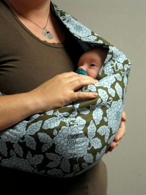 30 MINUTE Baby Sling PDF Pattern - Great beginner project