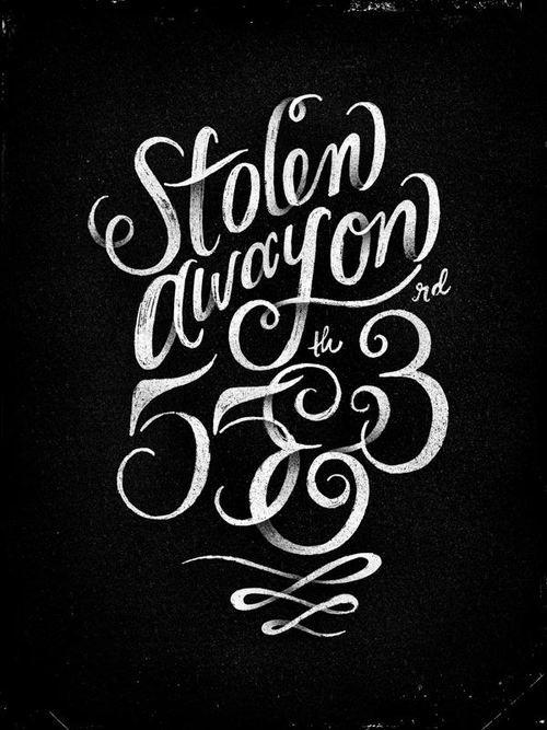 Typography by Allison Cruzado