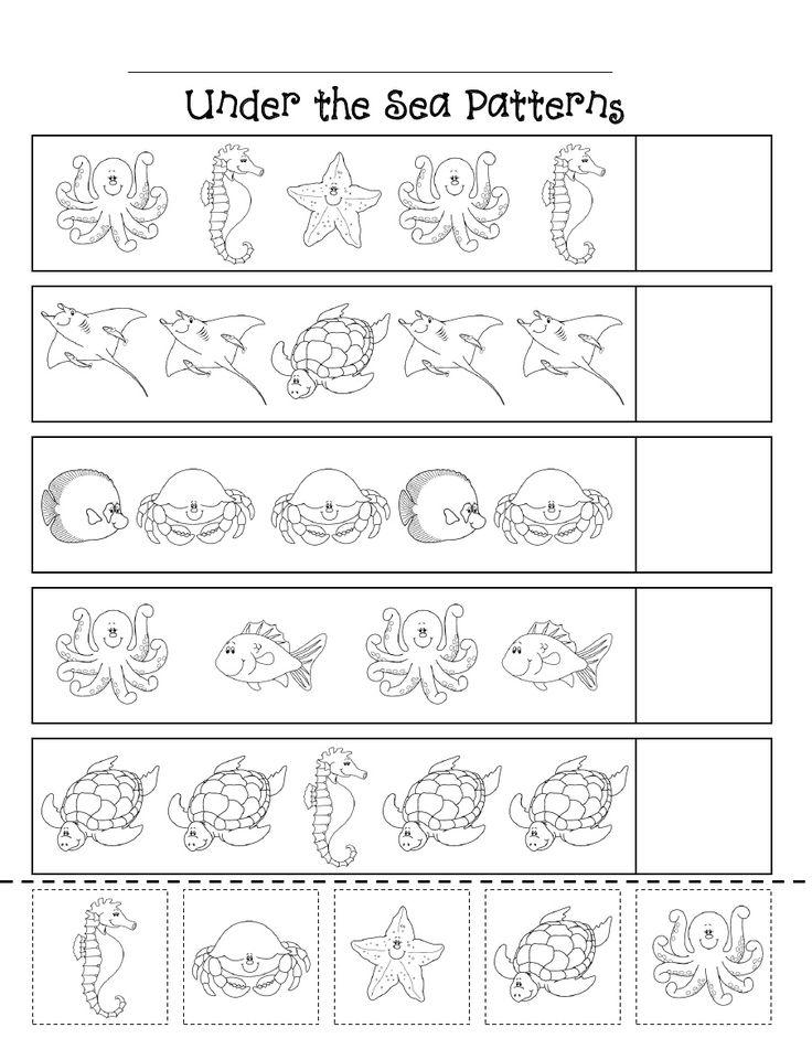 ocean patterns scribd ocean theme pinterest crafts animals and patterns. Black Bedroom Furniture Sets. Home Design Ideas