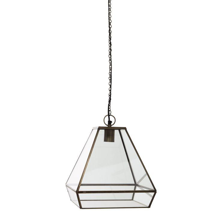 Hängelampe GALILÉE aus Metall und Glas, D 31 cm Jetzt bestellen unter: https://moebel.ladendirekt.de/lampen/deckenleuchten/deckenlampen/?uid=ea1032d3-395b-5767-8191-0ccf7867cffb&utm_source=pinterest&utm_medium=pin&utm_campaign=boards #deckenleuchten #lampen #deckenlampen