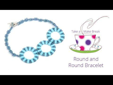 Round and Round Bracelet | Take a Make Break with Beads Direct