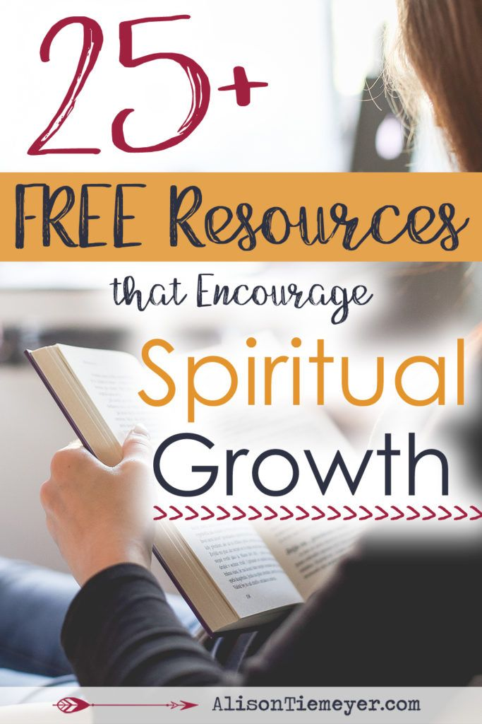 In need of deep spiritual growth this year? Here is a power-packed list of 25+ FREE resources that encourage godly, grace-filled growth. There is something here for everyone!
