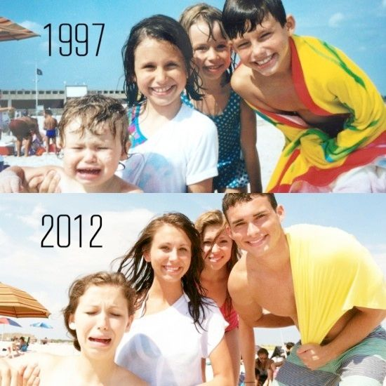 Recreating Family Photos..love this idea! Do you have a family photo from long ago that would look awesome updated with the same pose? Great site for ideas: http://www.kidskubby.com/recreating-old-family-photos/#