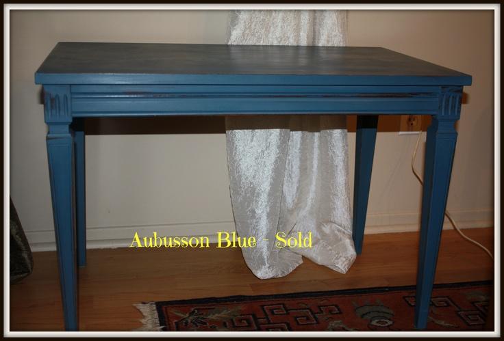 Side table ASCP- Aubusson Blue