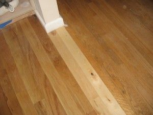 Transitioning Floor When Trying To Match Old Wood For