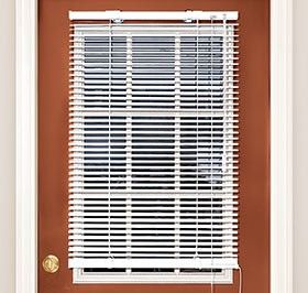 maybe in baywindow dining room to make faux roman shades?  need to see the mounting mechanism Magnetic Blinds @ Harriet Carter