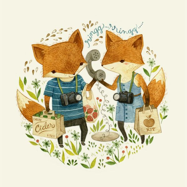 Illustration by Teagan White. Love this for Felix's room