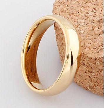 J117 férfi jegygyűrű Rose arany gyűrű. ID: 32273687233 Méret: 57mm Ára: 3250,-/db