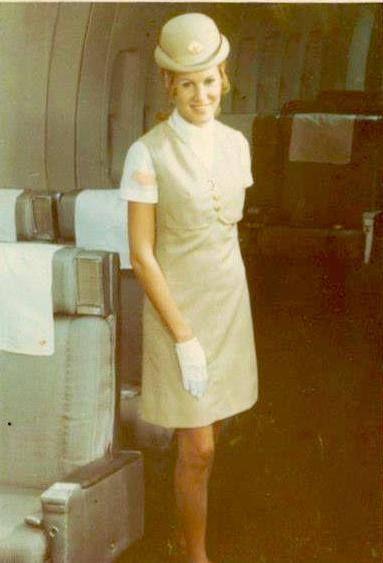 Pan Am stewardess Angela McCoy