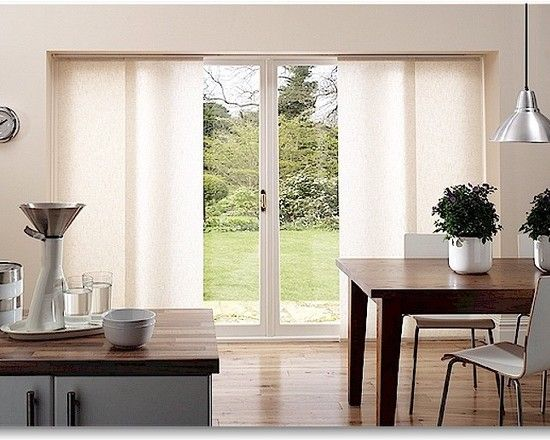 sliding glass door window treatments