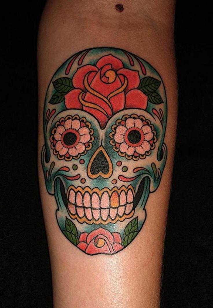 Les 25 meilleures id es de la cat gorie dessin tete de mort sur pinterest cr ne de sucre - Signification tatouage tete de mort ...