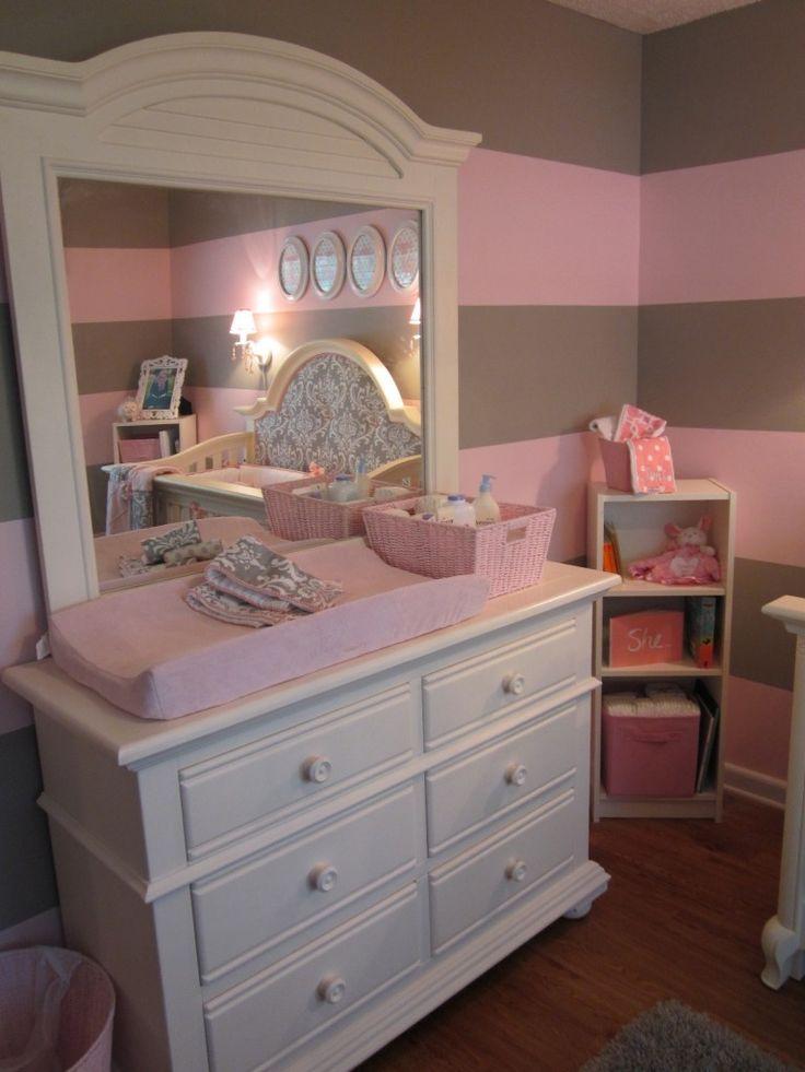 Pink and Gray for Baby J « Project NurseryNurseries Room, Kids Room