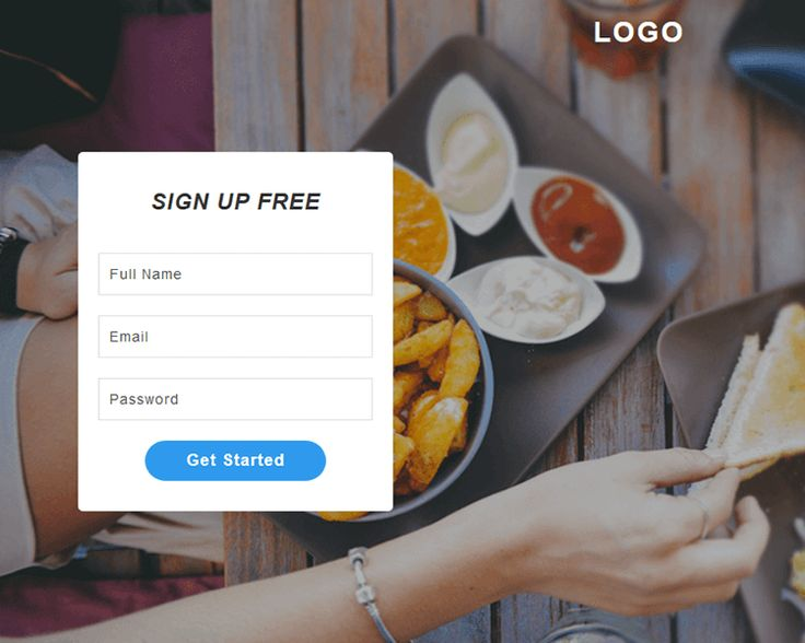 7 best Free Subscribe   Sign up Form images on Pinterest Website - free sign up template