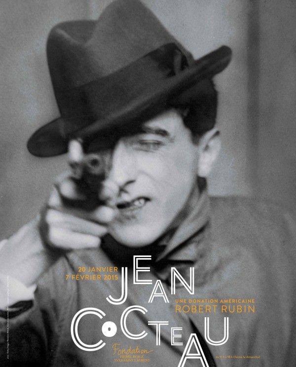 Jean Cocteau, une donation américaine - Robert Rubin à la Fondation Pierre Bergé - Yves Saint Laurent. Affiche