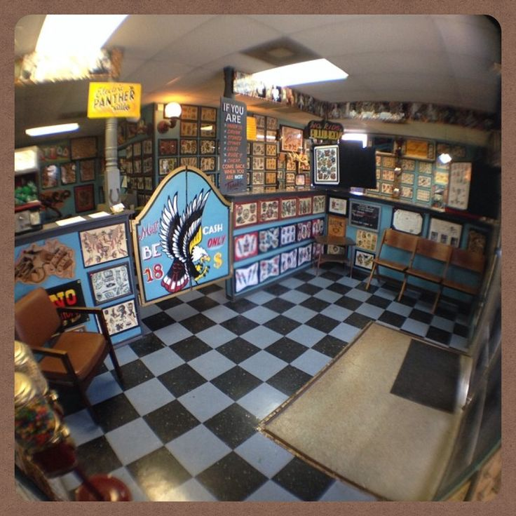 17 best images about tattooshop miniature dollhouse for Alaska tattoo shops