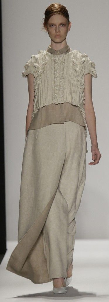 Academy of Art University Spring 2015 Collections - Runway. NYFW Knitwear Inspiration by Studio Knit.
