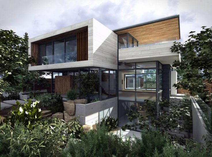 Best Modern Houses Elevations Images On Pinterest Modern