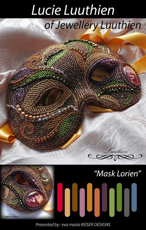 Colorway: Lucie Luuthien of Jewelry Luuthien Shop: http://www.gothic-sperky.cz/ Shop: http://www.luuthien.cz/
