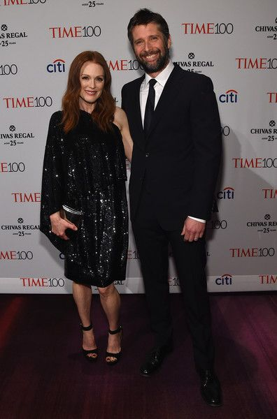 Bart Freundlich and Julianne Moore at the Time 100 Gala