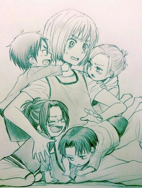 Snk Armin's daycare