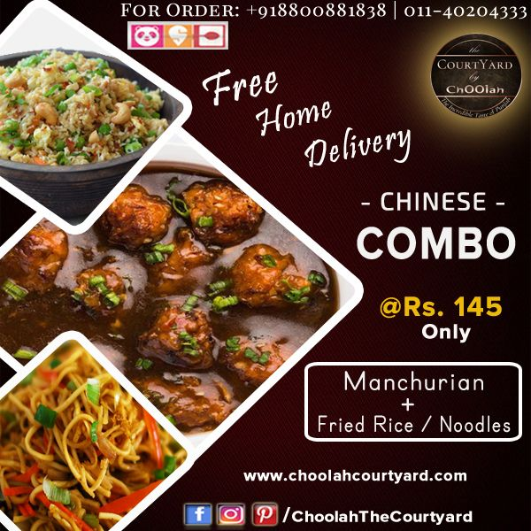 Chinese Combo Pack Indian Food Recipes Online Food Food