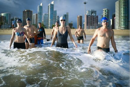 Águas abertas. Natação é a nossa praia | DOM. | O POVO Online