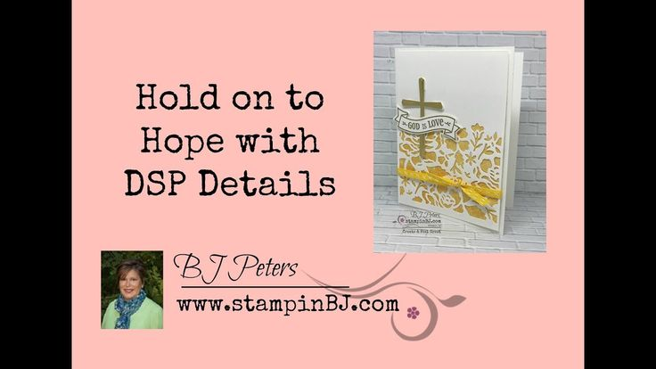 Hold on to Hope Card with DSP Details