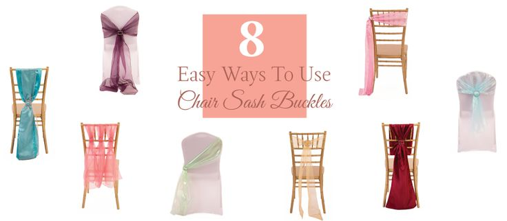 Chair Sash - How to tie