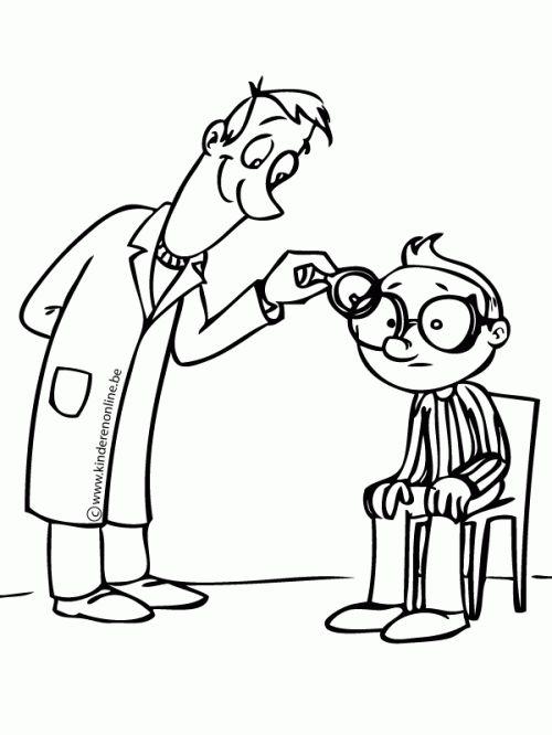 De enige dat niet blind is geworden is de vrouw van de oogarts. Ze doet alsof dat ze blind is om bij haar man te blijven. De vrouw heeft een positieve invloed op de slachtoffers.