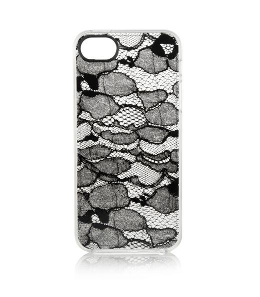 Lace print iPhone case...