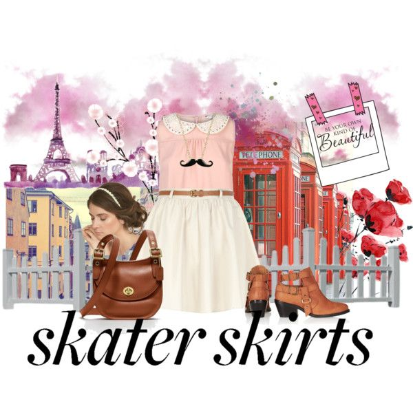 """""""How Do You Style Skater Skirts?"""" by shindy-snazzy on Polyvore"""