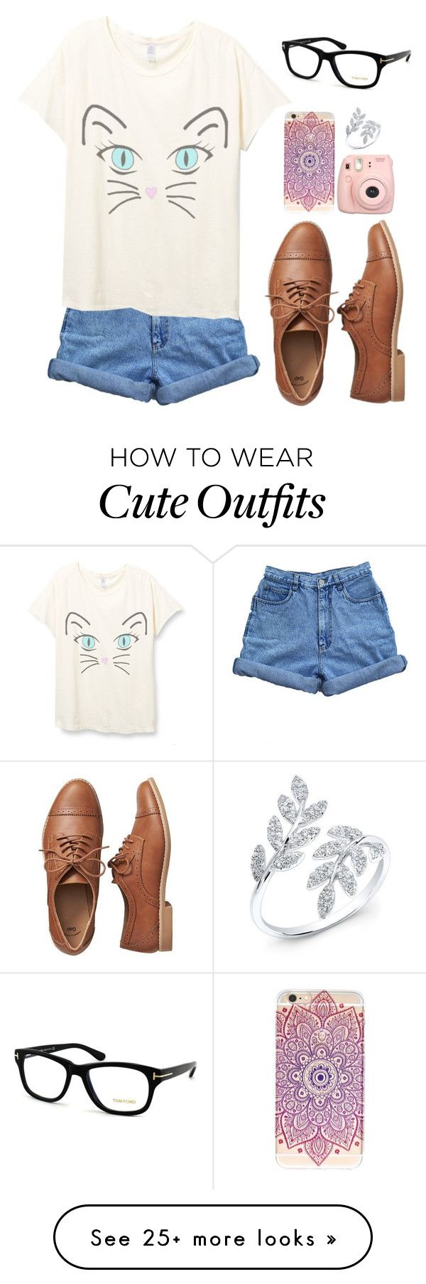 quotcute geeky outfitquot by bellaboow1 on polyvore featuring