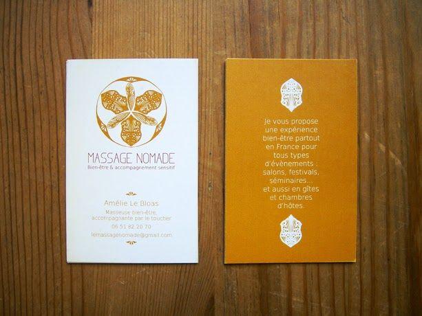 Carte de visite Massage Nomade - MATAGADA
