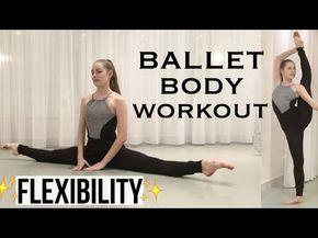 Ballet body workout - FLEXIBILITY (follow along) | Talia - YouTube