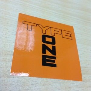Spoon Sports Type One Mark Sticker  £6.07  High Quality Type One Mark #Logo Sticker in Orange  ADVERT FOR 1 #STICKER  In stock ready to ship!