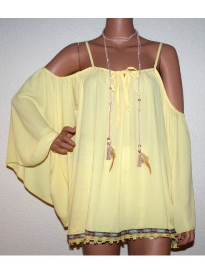 Lux Hippe Tunica - Yellow
