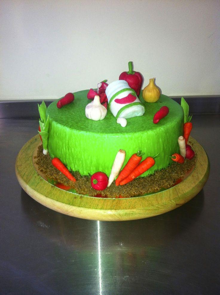 Caketown: Tort z warzywami