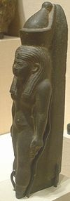 Mut - mother in Egyptian language.  Multiple aspects that changed over thousands of years of culture.  Maut & Mout.  She was a primal deity associated with the waters.  Her titles:  world mother, eye of ra, queen of goddesses, lady of heaven, mother of gods...