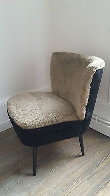 fauteuil chauffeuse cocktail vintage annees 50 60 design scandinave liste de mes envies. Black Bedroom Furniture Sets. Home Design Ideas