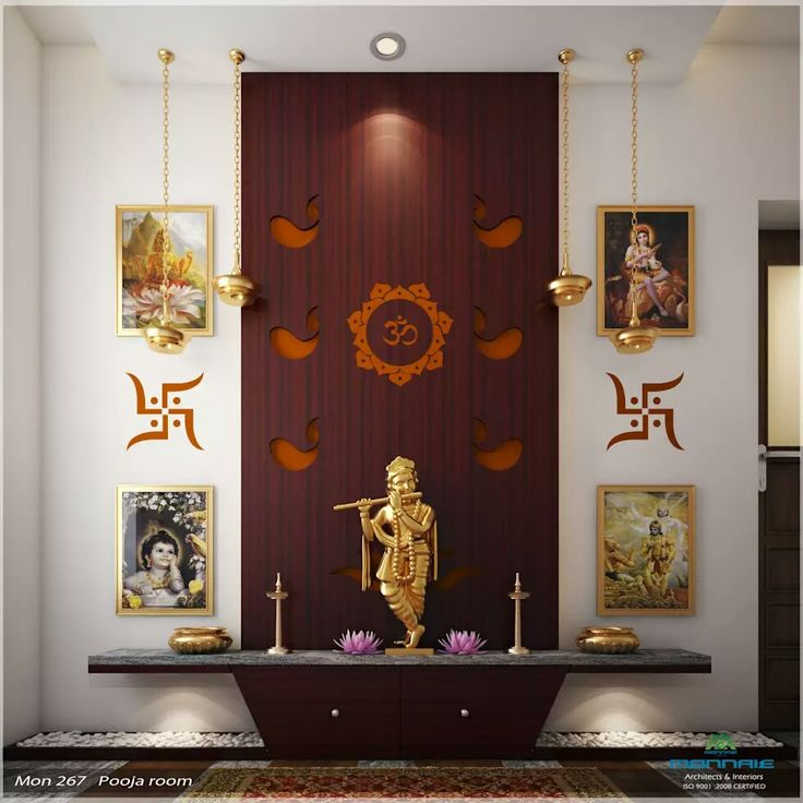 614 Best Pooja Room Designs Images On Pinterest