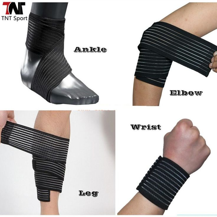 Compression bandage elbow wrist ankle strap band supports