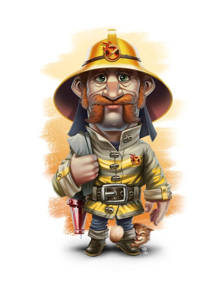 Картинки, пожарные прикольные картинки