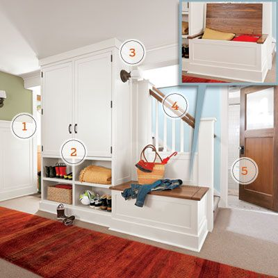 75 best images about mud room entryways on pinterest for Basement mudroom ideas