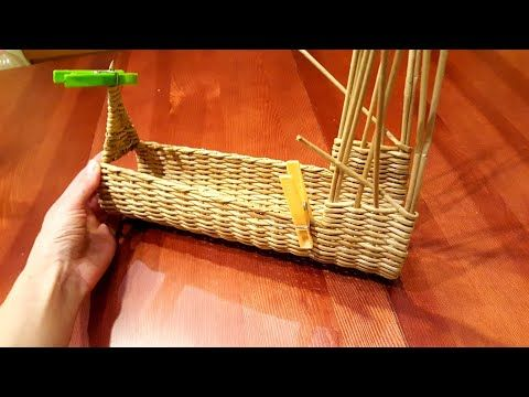 (22) Плетем собачку салфетницу из газет! Прямая трансляция! - YouTube