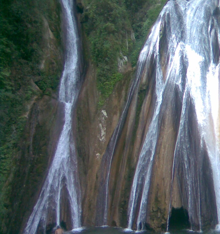 Waterfalls in Dehradun, India