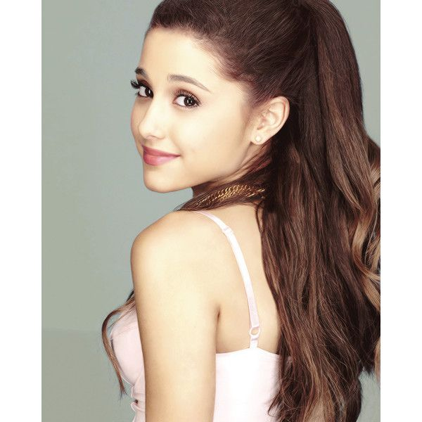 ariana grande ❤ liked on Polyvore featuring ariana grande, ariana, people, hair and pictures
