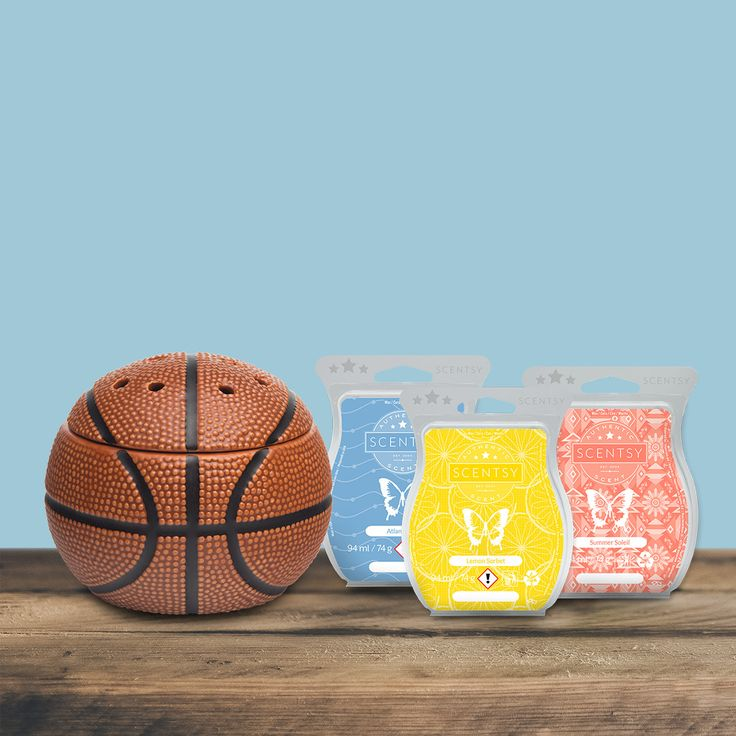 This is Dunk!. This Scentsy set is another of the 2 made for father's day gifts. With the warmer and the 3 pre selected bars only €51 :) :o