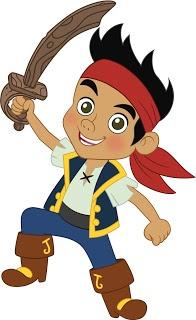 Imágenes y fondos de Jake y los piratas de Nunca Jamás.