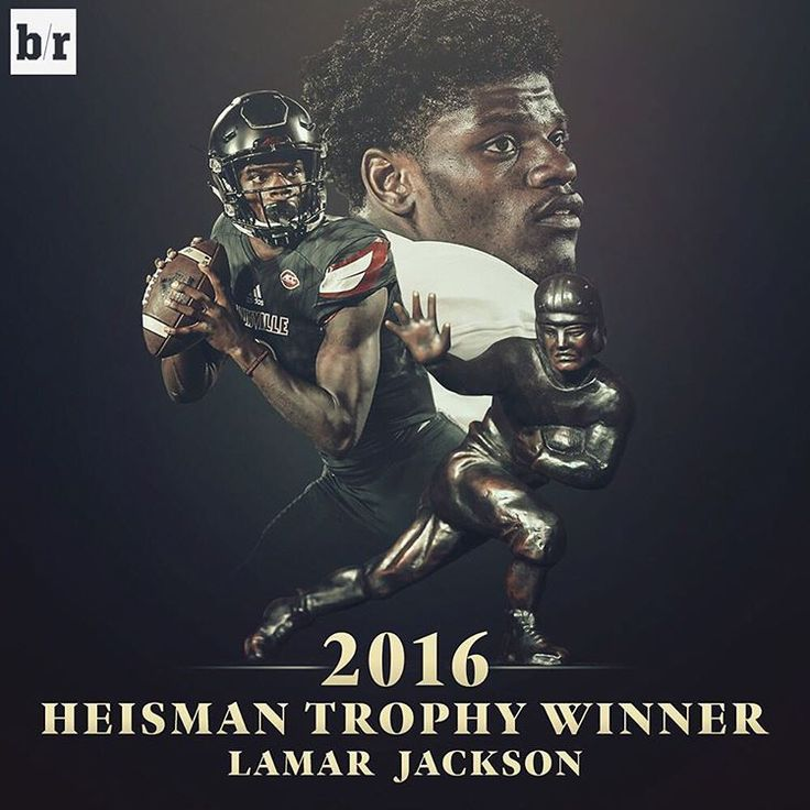 Lamar Jackson is your 2016 Heisman Trophy winner!